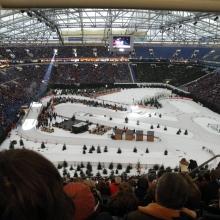 2012 Biathlon auf Schalke